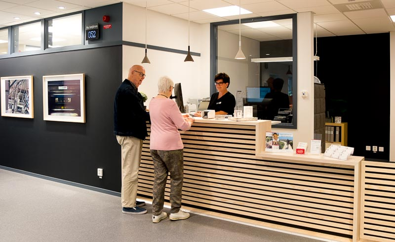 Kattegattkliniken reception